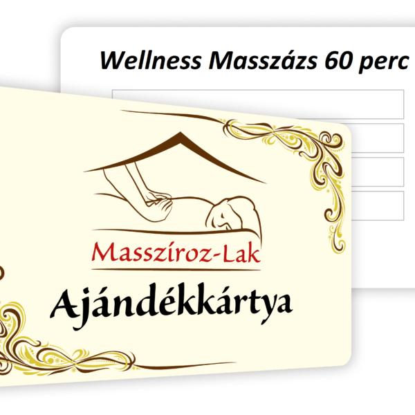 Wellness masszázs
